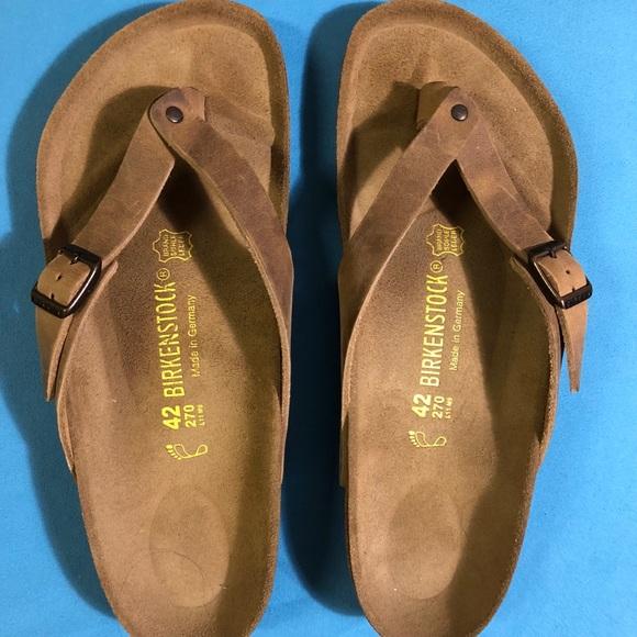 new product c6ff3 8ab45 NWT Adria Birkenstock Thong Flip Flops ..Sz 42/W11 NWT